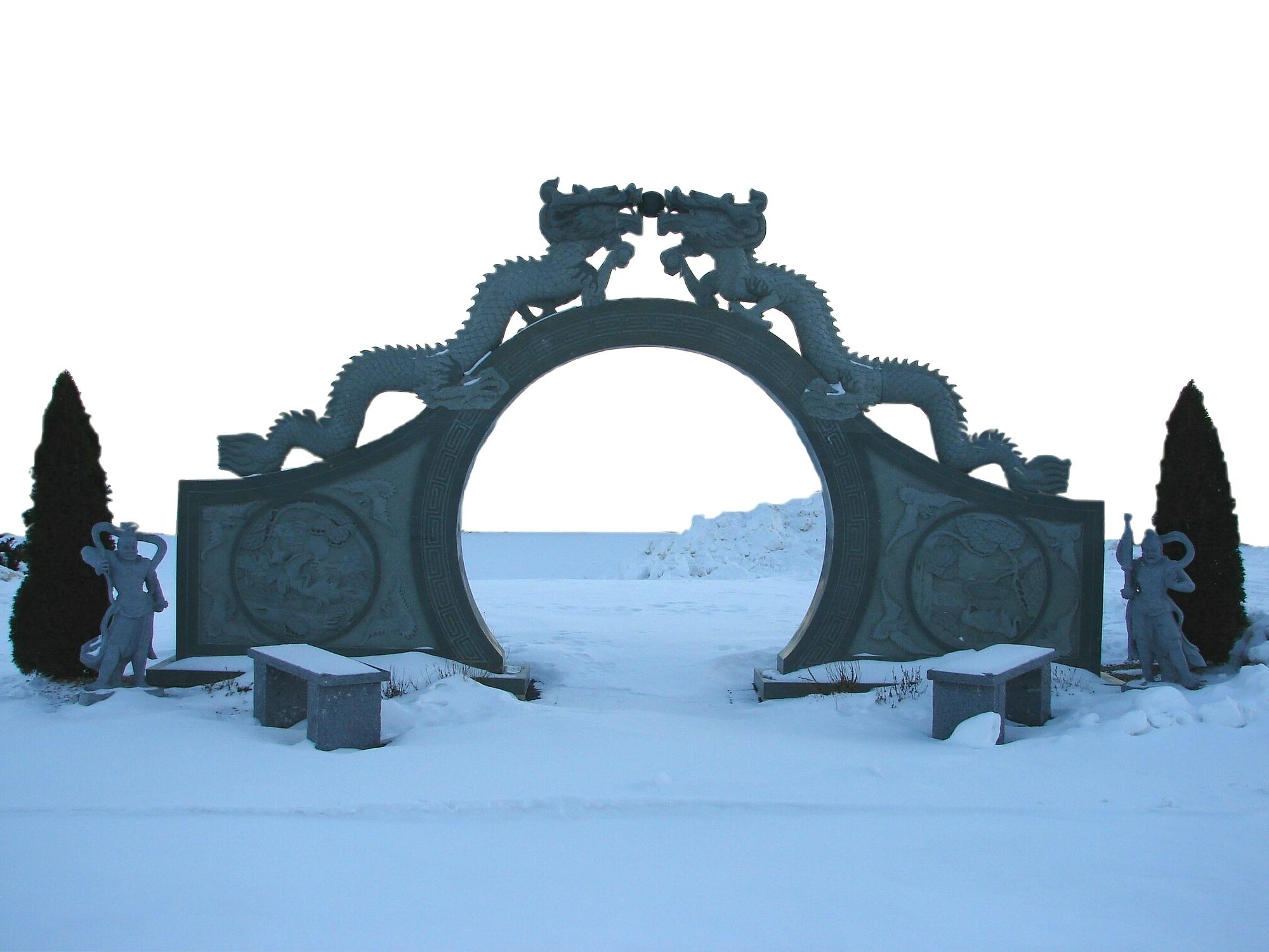 Dragon Gate Image from fantasystock.deviantart.com