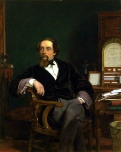 """Charles Dickens by Frith 1859"" by William Powell Frith - http://www.allposters.com/-sp/Portrait-of-Charles-Dickens-Posters_i1590987_.htm. Licensed under Public Domain via Wikimedia Commons - http://commons.wikimedia.org/wiki/File:Charles_Dickens_by_Frith_1859.jpg#mediaviewer/File:Charles_Dickens_by_Frith_1859.jpg"