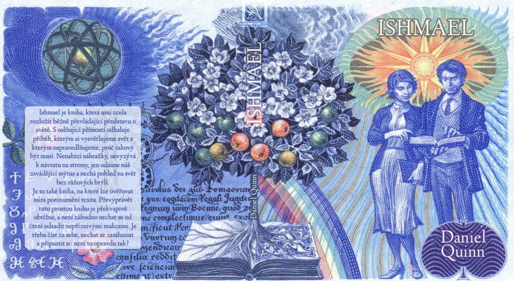 Plánovaný přebal Ishmaela v podobě staré dvacetikoruny